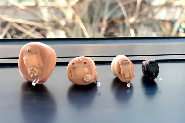 スターキーの耳あな型補聴器