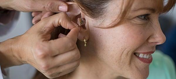 中古補聴器の装用2