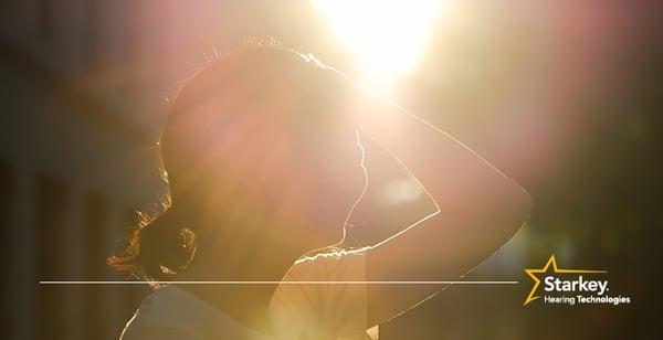 夏と補聴器