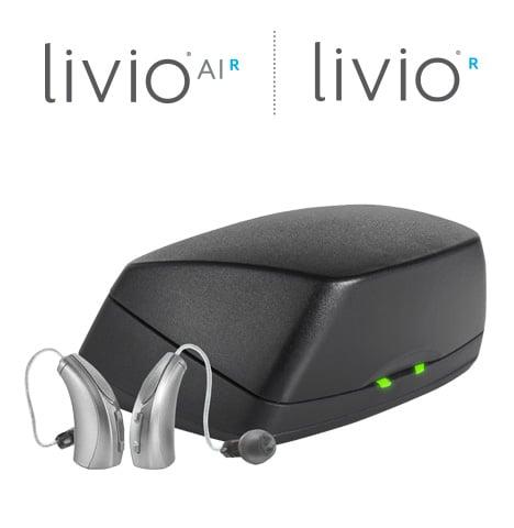 充電式Livio補聴器