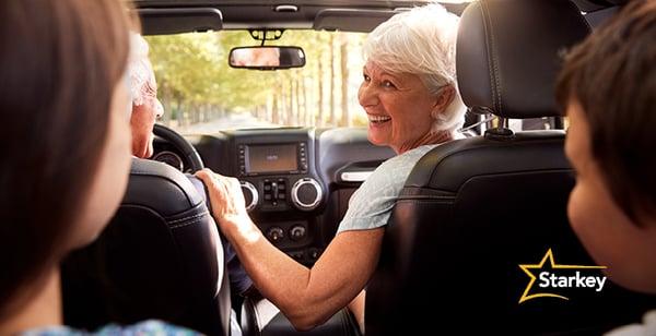 車の中の補聴器の聞こえ