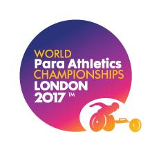 世界パラ陸上競技選手権大会ロンドン2017ロゴ