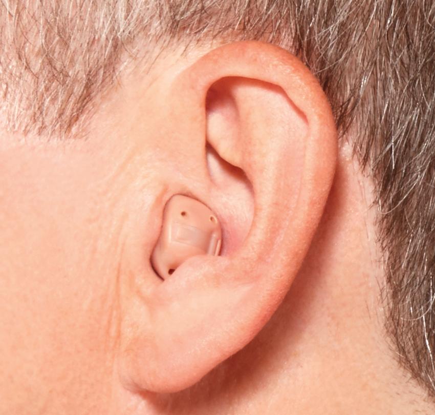 ITC補聴器装用イメージ