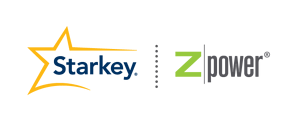 スターキーとゼットパワーのロゴ