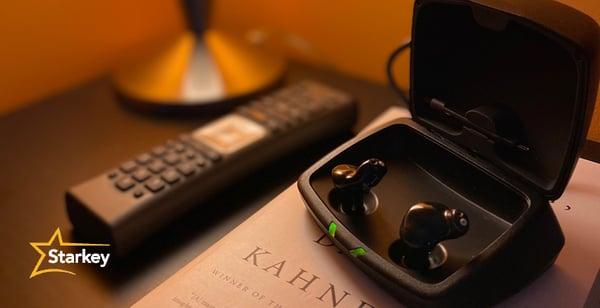充電式耳あな型補聴器