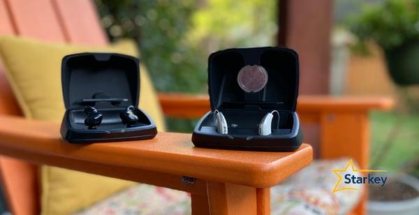 スターキーの充電式補聴器