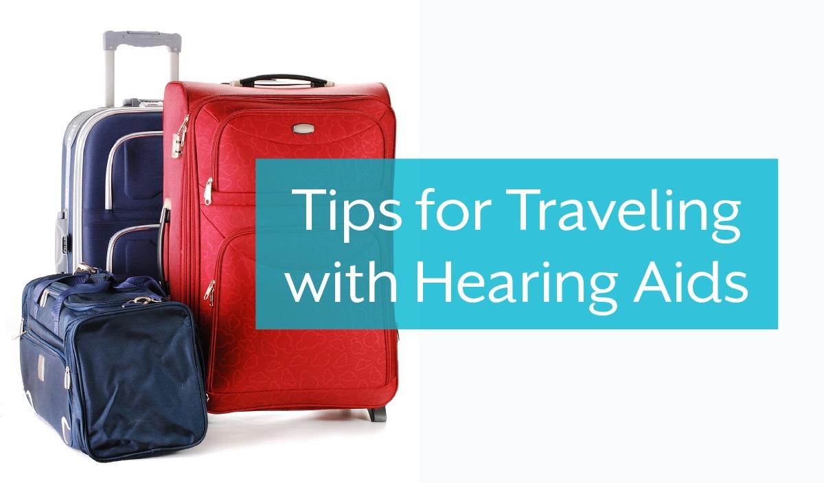 補聴器と旅する時のヒント