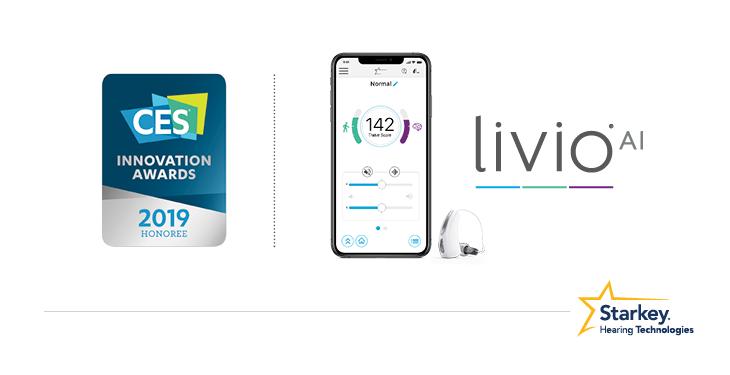 Livio AI補聴器は米国ウォール・ストリート・ジャーナルのBest of CES 2019に選ばれています