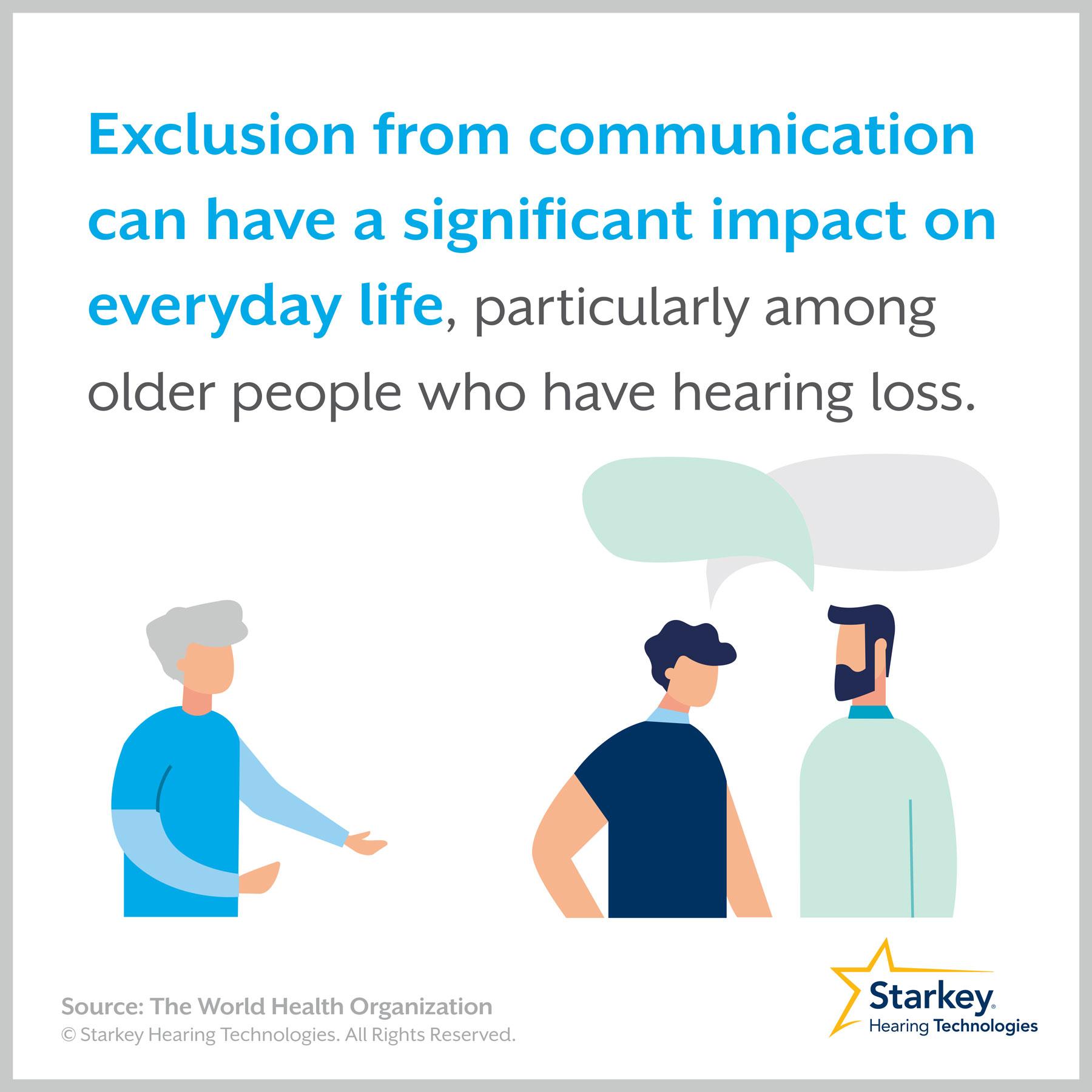 難聴によるコミュニケーションからの疎外
