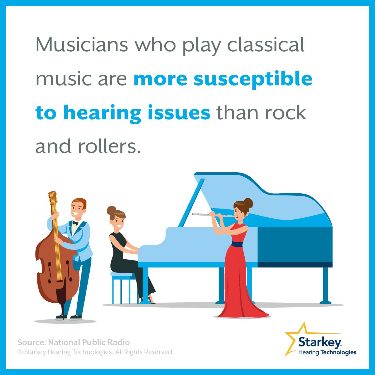 長時間音楽を聴き続けるときは注意しましょう