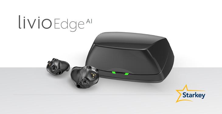 Livio Edge AI 充電式耳あな型オーダーメイド補聴器を見たことはありますか?