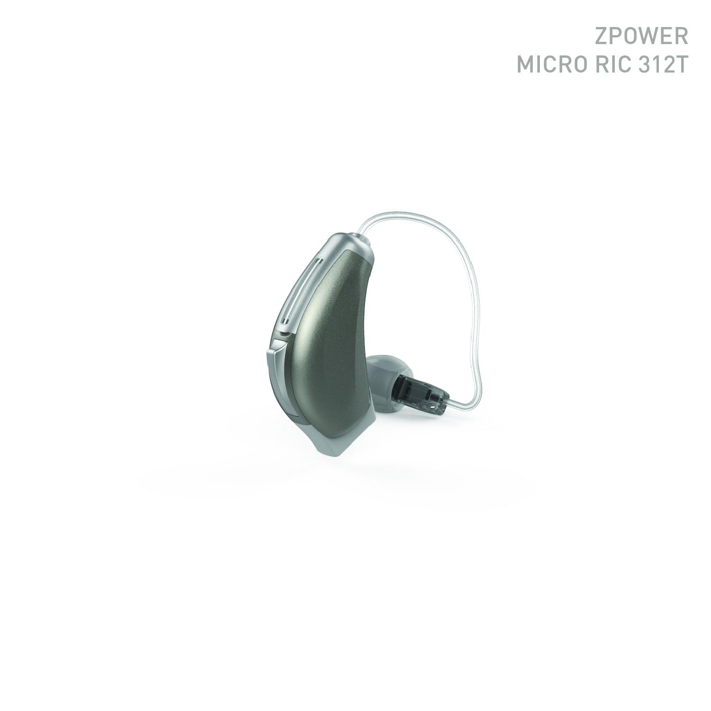 ハイブリッド充電補聴器ZパワーRIC312r